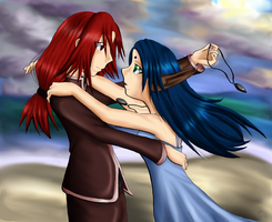 SO4- Crowe and Eleyna by OceanLeviathan