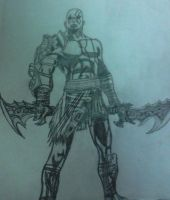 Kratos The God Of War by Lostboy92