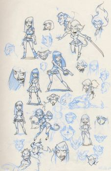 BH sketches by donsimoni