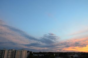Clouds in sunset 03 by Soliett
