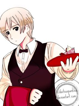 APH: Strawberry Cheesecake? by M-ariazell