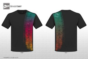 T-Shirt Design - Cont. Stripe by Fiiress