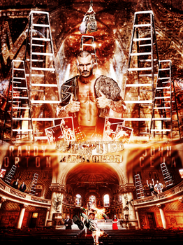 Randy Orton VS John Cena TLC 2013 Poster by JoKeRWord