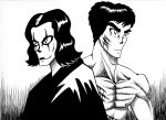 Fanart- Bruce Lee and Brandon Lee by Rayaroja