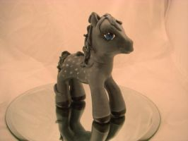 My Little Pony Custom Grey by colorscapesart