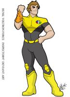 Hunk Voltron Force by Inspector97