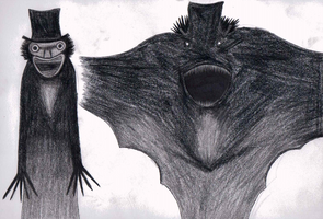 Mr. Babadook by DRAGONLOVER101040