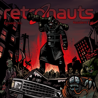 Retronauts Cover 6: Resident Evil by P5ych