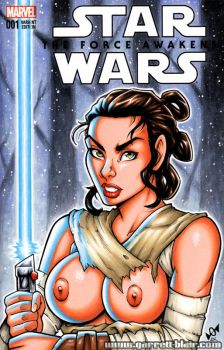 Naughty Rey bust cover by gb2k