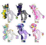 MLP Spike and Discord  Ship Adopts OTA (CLOSED!) by TearyIris