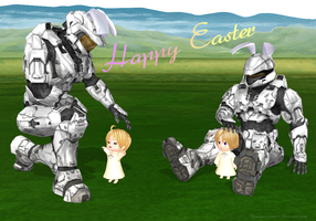 Bunny Spartans and NA Brothers by Shinigami-Spartan