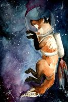 Space Fox by adlibber