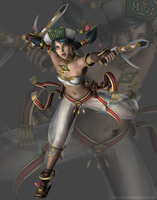 Soulcalibur IV - Talim (no jacket) by Sterrennacht