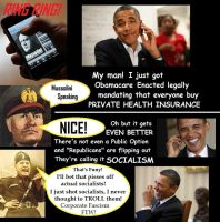Obamacare Phone by Valendale