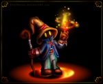 FF IX - The little Black Mage by Azurelly