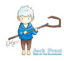 Chibi Jack Frost by KuKu-Cat