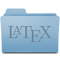 Latex Folder (Mac OS X Snow Leopard ) by missyobo