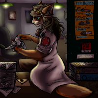 Take a Number... I'll See You Shortly :GIFT: by shi562