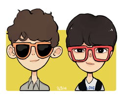 chanyeol  kai! by starjunk