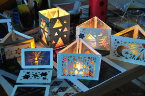 Magic Triangles Handicraft Work 6 by 8DFineArt