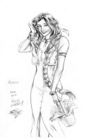 Aerith by MatiasSoto