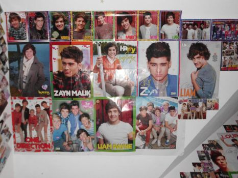My Second 1D Wall FINISHED by ZANEkun
