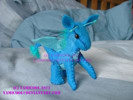 Able the dragon plush by yamicool