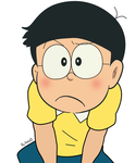 Nobita Expression 2 by Niko2383