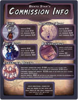 Commission Info by BentoStars