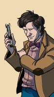 11th doctor by Kellhound1365