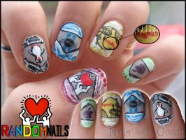 Random nails by Ninails