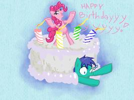 Happy birthday McGack! by TuliothePillbug