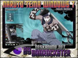 Zabuza Momochi Theme Windows 7 by Danrockster