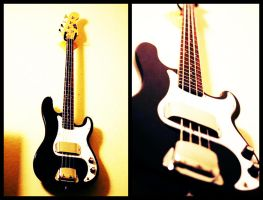 77 Fender Precision Bass by Jane-Moth
