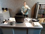 Edward Nygma G.C.P.D. Office Diorama by skphile
