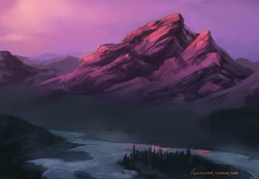 Mountain by ancalinar
