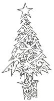 christmas tree 01 by wolfds