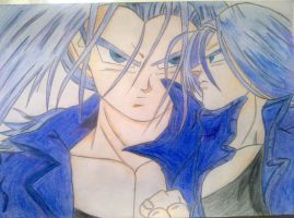 Trunks coloured by InfinityAngel92