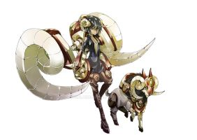 Dita The Spiral Horn by sinlaire
