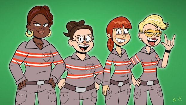 Ghostbusters by SB99stuff