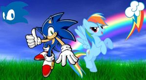 Sonic Rainboom by AllenRavenix