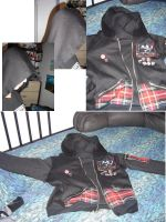 Perfect Zip-up Hoodie by spanky420
