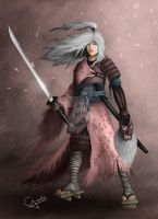 Samurai Character Concept (Project Ingress) by CODYillustrations