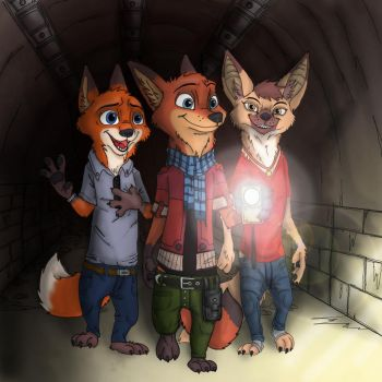 The end of the tunnel by Ziegelzeig