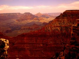 Grand Canyon Sunset by darthbourne11