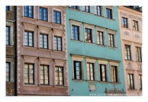 old town houses by Julanna