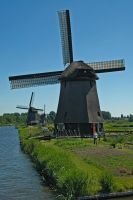 Windmills near Alkmaar_004 by BlokkStox