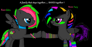 Stays Together......Raves Together by iPandacakes