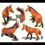 Maned Wolf Sculpture by yuumei