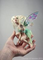 Fleur OOAK Healing Flower Faery by Fairytasia by fairytasia